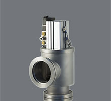 Large diameter angle valves