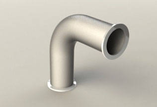 Long radius elbow - Stainless steel