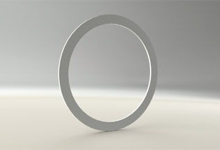 Silver plated Copper gasket