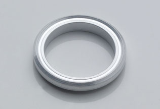 KF Aluminum Edge Seal - One Side Inner Center Ring