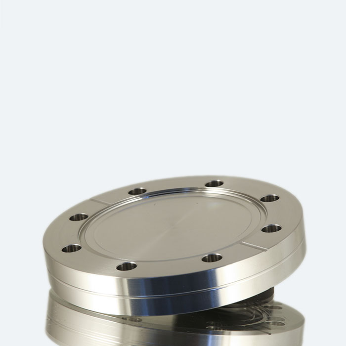 Double sided blank flange