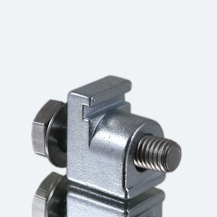 Wall clamps - steel