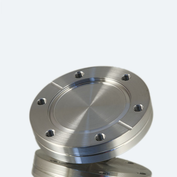 Tapped blank flange