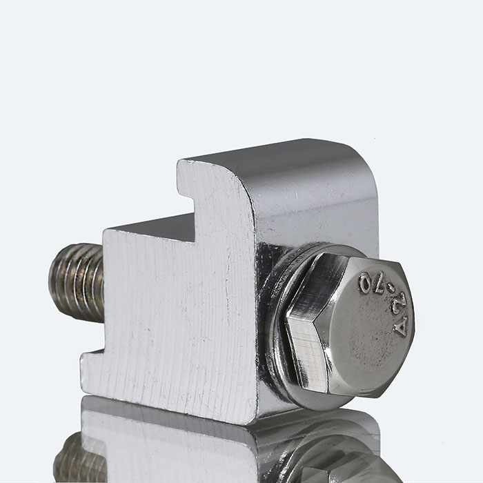 Wall clamps - aluminum